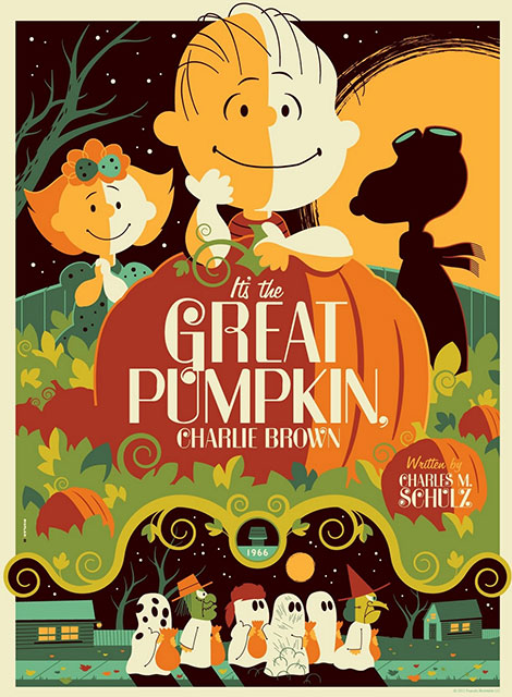 دانلود انیمیشن It's the Great Pumpkin, Charlie Brown 1966